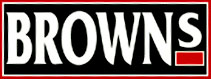 browns logo: click for home page